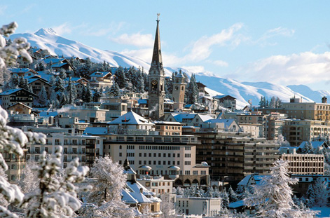 Day view of St Moritz.