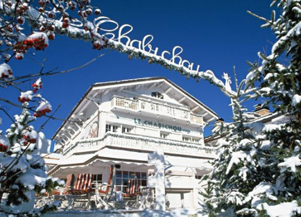 Exterior of Hotel Le Chabichou in Courchevel 1850.