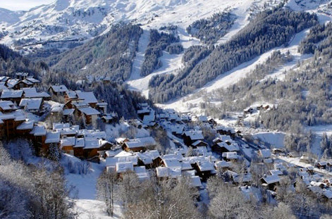 Chalets at Meribel.