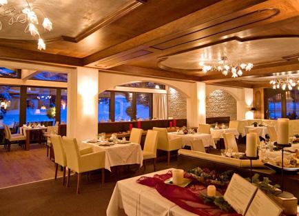 Restaurant III at Hotel Mirabeau at Zermatt.