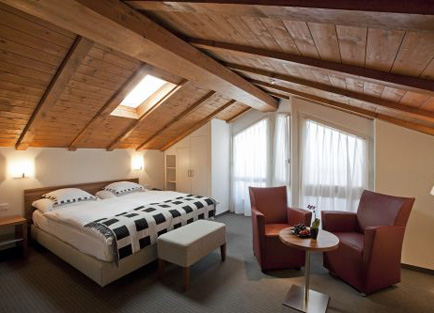 Room in Hotel Allalin at Saas Fee.