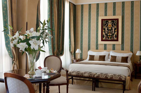 Room in Hotel Londra Palace, Venice.