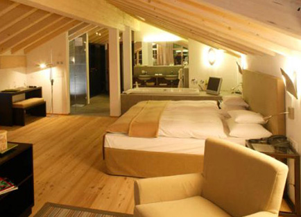 Room at Hotel Mirabeau at Zermatt.