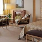 Room in Kulm Hotel at St Moritz.