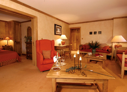 Room in Le Chalet D'Adrien at Verbier.