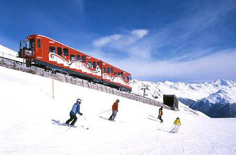 Train at Davos Klosters.