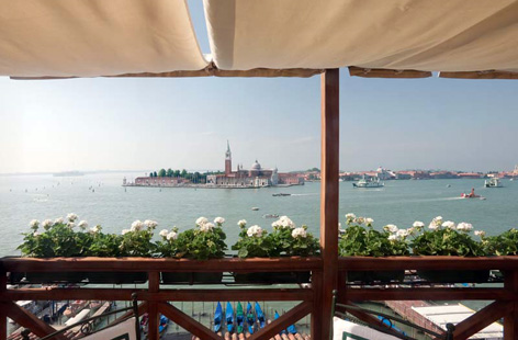 View from Hotel Londra Palace, Venice.