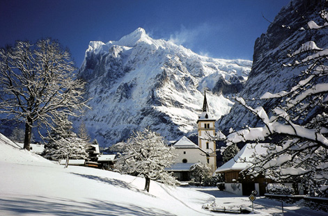 Village of Grindelwald.