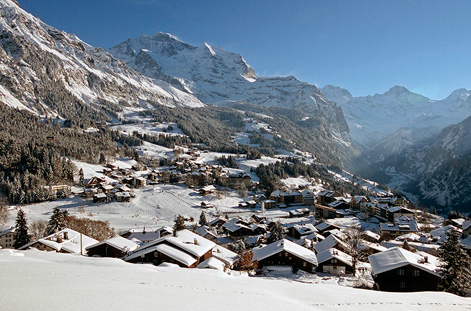 Village of Wengen.