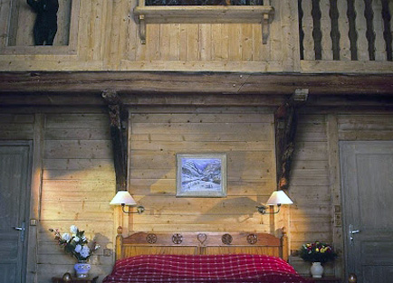 Suite in Hotel Christiania in Val d'Isere.
