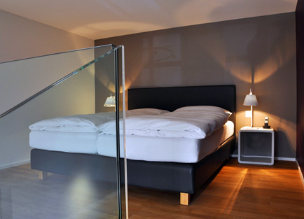 Loft Suite in Hotel Edelweiss in Davos.