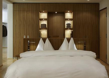 Waldhotel-Bed